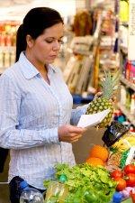 Zakupy według listy niezbędnych produktów
